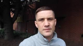 'TO ME ITS JUST ANOTHER DAY & ANOTHER FIGHT'-RICKY BURNS ON MICHELLE DI ROCCO /HISTORY IN THE MAKING