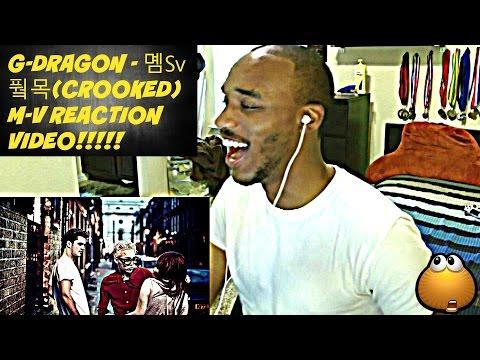 G-DRAGON - 삐딱하게(CROOKED) M-V REACTION VIDEO!!!!