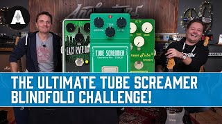 The Ultimate Tube Screamer Blindfold Challenge - 8 Pedals - £60 - £300 Shootout!