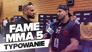 FAME MMA 5 Typy Marcina Wrzoska