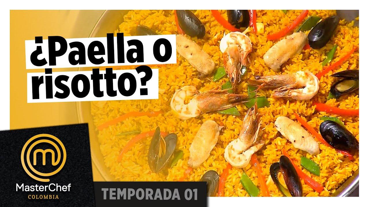 ¡Van a servir paella o risotto milanés? | MASTERCHEF COLOMBIA | TEMPORADA 01