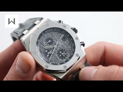 "Audemars Piguet Royal Oak Offshore Chronograph 26470ST.OO.A104CR.01 ""Elephant"" Watch Review"