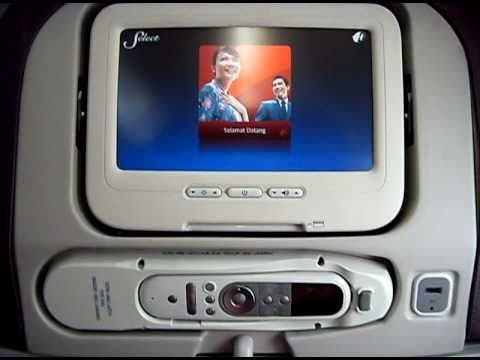 Malaysia Airlines New Boeing 737 800 Economy Class Cabin