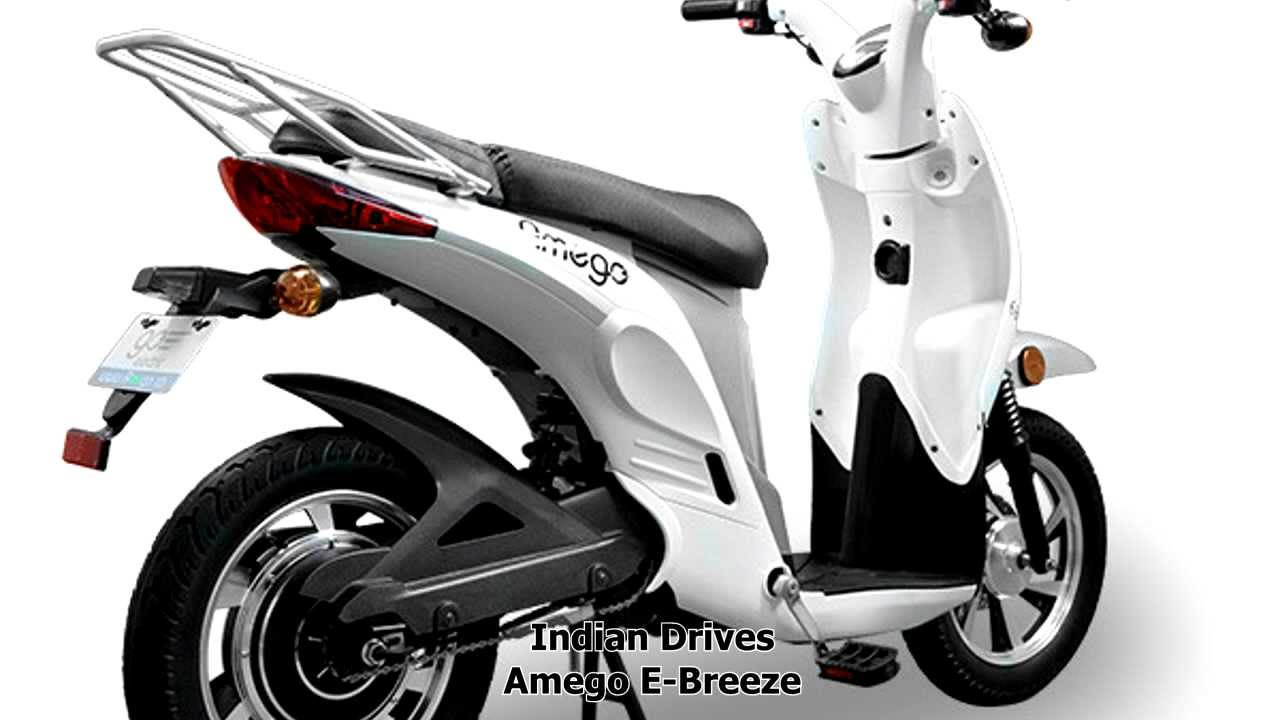 Enter Amego E Breeze Electric Scooter Youtube