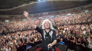 Selfie Stick Video Melbourne Australia First Night March 2 2018 Queen Adam Lambert
