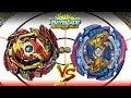베놈 디아볼로스(Venom Diabolos) vs 저지먼트 조커(Judgement Joker) - (베이블레이드 버스트 / Beyblade Burst / ベイブレード バースト)