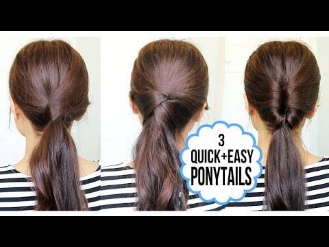 running-late-ponytail-hairstyles-|-hair-tutorial