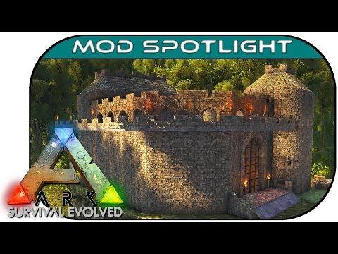 Ark: Survival Evolved :: Mod Spotlight :: Castles, Keeps and Forts Architecture!!