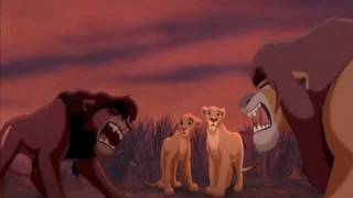 The Lion King Simba's Pride fandub/collab - Kovu Saves Kiara & Confronts Simba