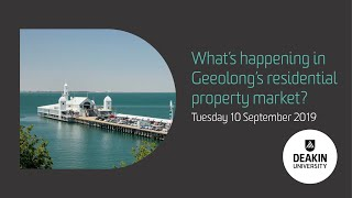 What's happening in Geelong's residential property market?