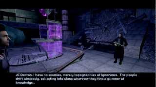 Deus Ex Invisible War - The Denton gang on Liberty Island