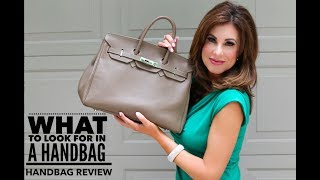 What To Look For In A Handbag Handbag Review