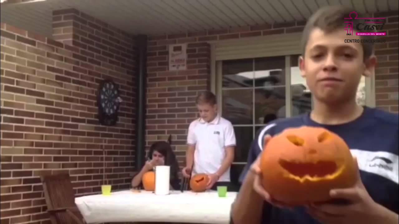 C mo vaciar una calabaza para halloween youtube - Como vaciar una calabaza ...