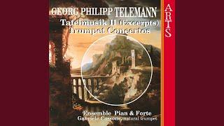 Tafelmusik Teil II - I. Ouverture - Suite: I. Ouverture: Lentement-Vite-Lentement (Telemann)