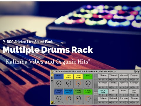 Ableton Sound Pack (32 Drums to Choose From) and Kalimba Samples  -
