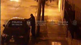 Video: Robo frustrado de un ladrón con poca práctica