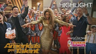 Dunkin' Lounge - Live Finale - America's Got Talent 2018