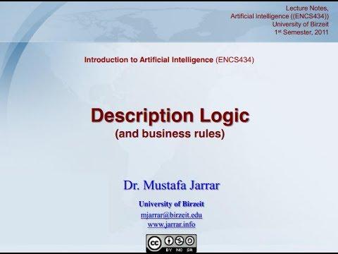 Description Logic & Business Rules