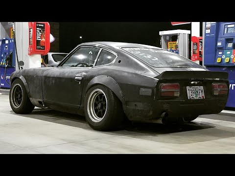 73 240z datsun rat rod build up, junkyard rescue roadkill rotsun evil twin thrash part 2 lsd 4 speed