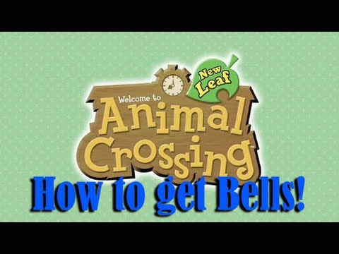 Animal Crossing New Leaf: How to Make Easy Bells (READ DESCRIPTION) - YouTube