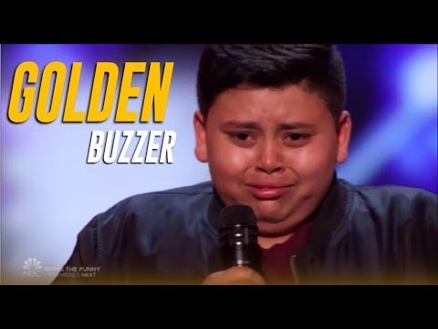 Brooke Taylor - You Have To See This 12yr Olds Golden Buzzer Moment On America's Got Talent