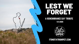 Lest We Forget | Last Post and Reveille | It's Not a Trumpet