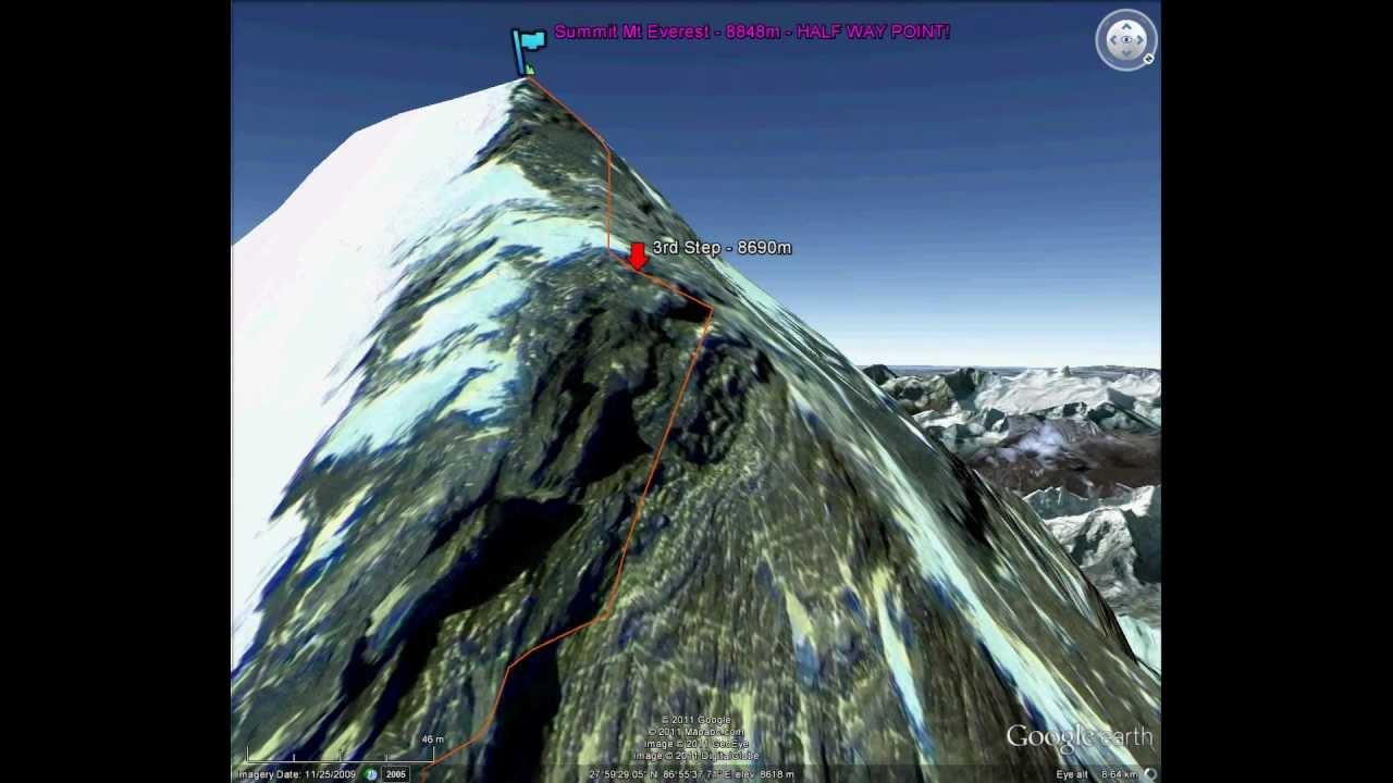 Mount Everest North Ridge Climbing Route In 3d Funnydog Tv