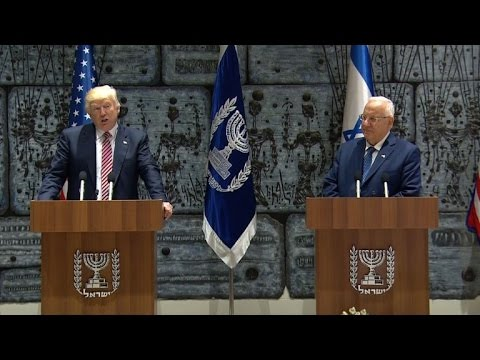 Thumbnail: Trump in Jerusalem denounces Iranian support for 'terrorists'