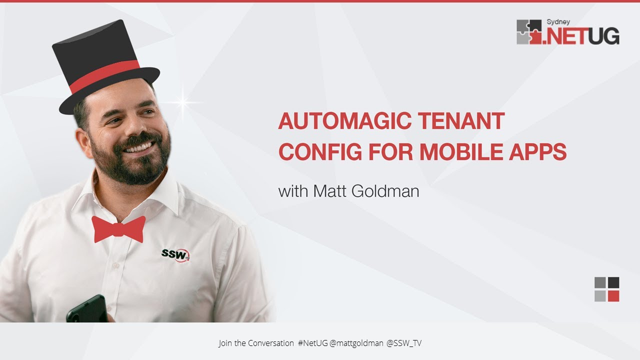 Automagic Tenant Config for Mobile Apps