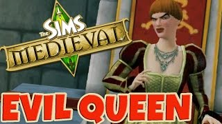 The Sims Medieval: Evil Queen - Baby Daddy Challenge #3