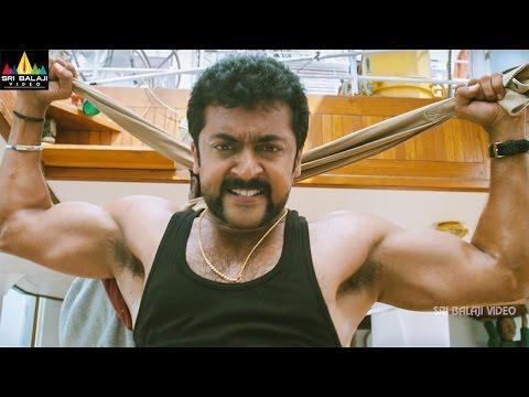 Singam (Yamudu2) Action Scenes Back to Back | Suriya, Danny Sapani, Mukesh Rishi