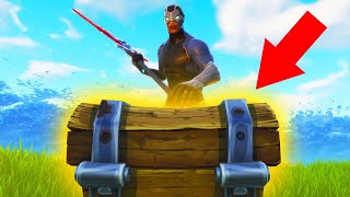 ONE CHEST CHALLENGE *WIN* IN FORTNITE BATTLE ROYALE!