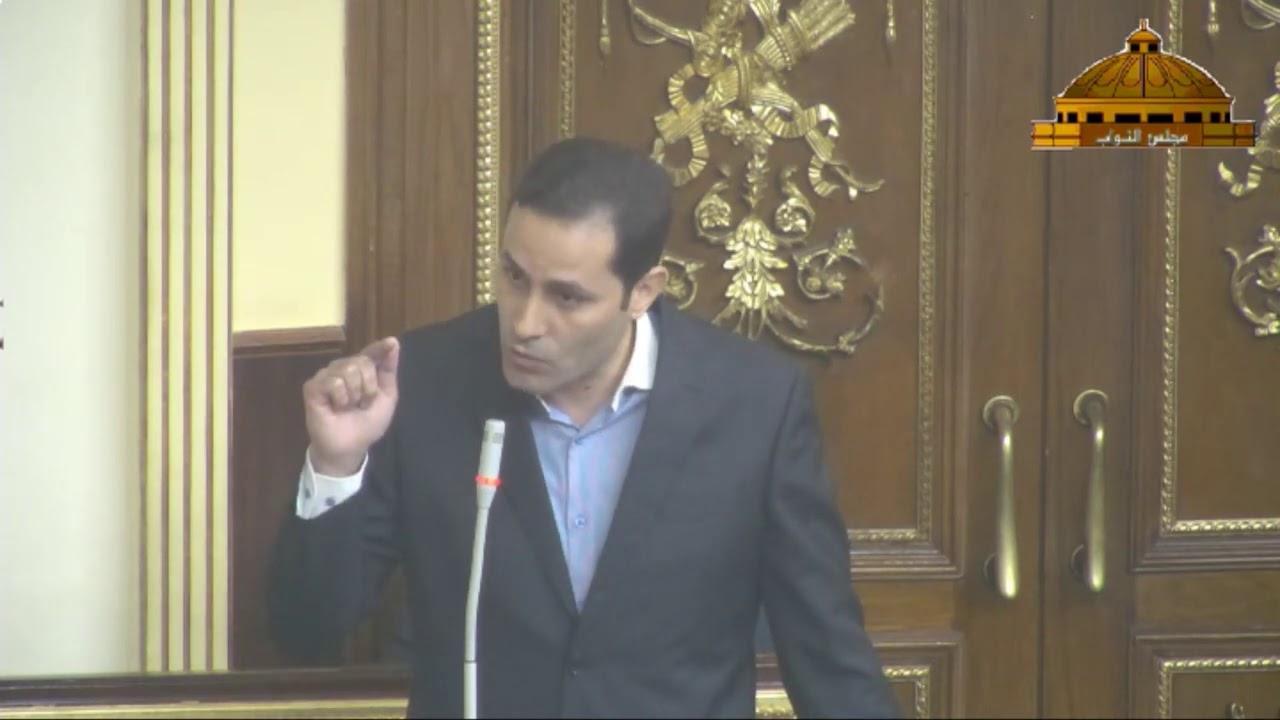 النائب أحمد الطنطاوي بجلسة الأحد الماضي يدافع عن استقلال الأزهر الشريف ويرفض قانون تنظيم دار الإفتاء