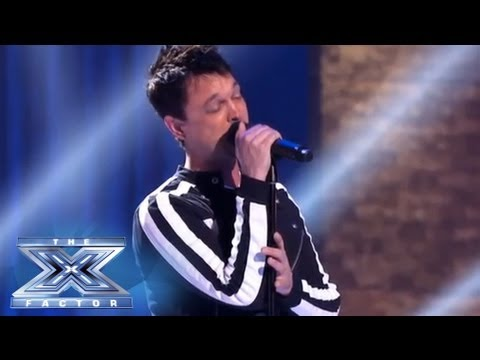 An Amazing Performance From Jeff Gutt - THE X FACTOR USA 2013