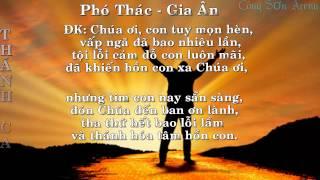 Phó Thác (Lyrics)