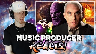Music Producer Reacts to Thanos vs J Robert Oppenheimer | Epic Rap Battles Of History