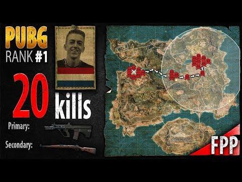 PUBG Rank 1 - ibiza 20 kills [EU] SOLO FPP - PLAYERUNKNOWN'S BATTLEGROUNDS