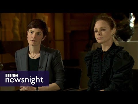 Stella McCartney and Ellen MacArthur on fashion sustainability - BBC Newsnight