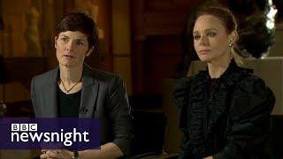 Stella McCartney and Ellen MacArthur on fashion sustainability - BBC Newsnight