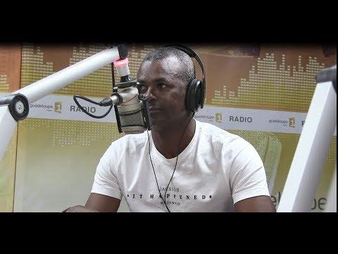 Interview : Jocelyn Angloma dans le 18 - 20 h de Guadeloupe 1ere La Radio