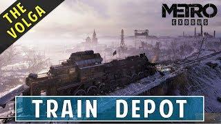 How to Tow the Passenger Car with Railcar | Train Depot | The Volga | Metro Exodus