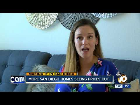 San Diego housing market seeing more price cuts