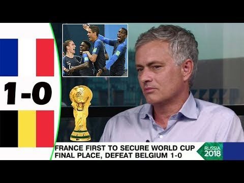 FRANCE VS BELGIUM 1-0 [POST MATCH ANALYSIS] WITH JOSÉ MOURINHO!