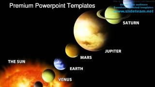 Solar System Science PowerPoint Templates Themes And Backgrounds Graphic designs