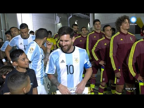 Argentina vs Venezuela - Copa América Centenario 2016 - Partido completo 1080p