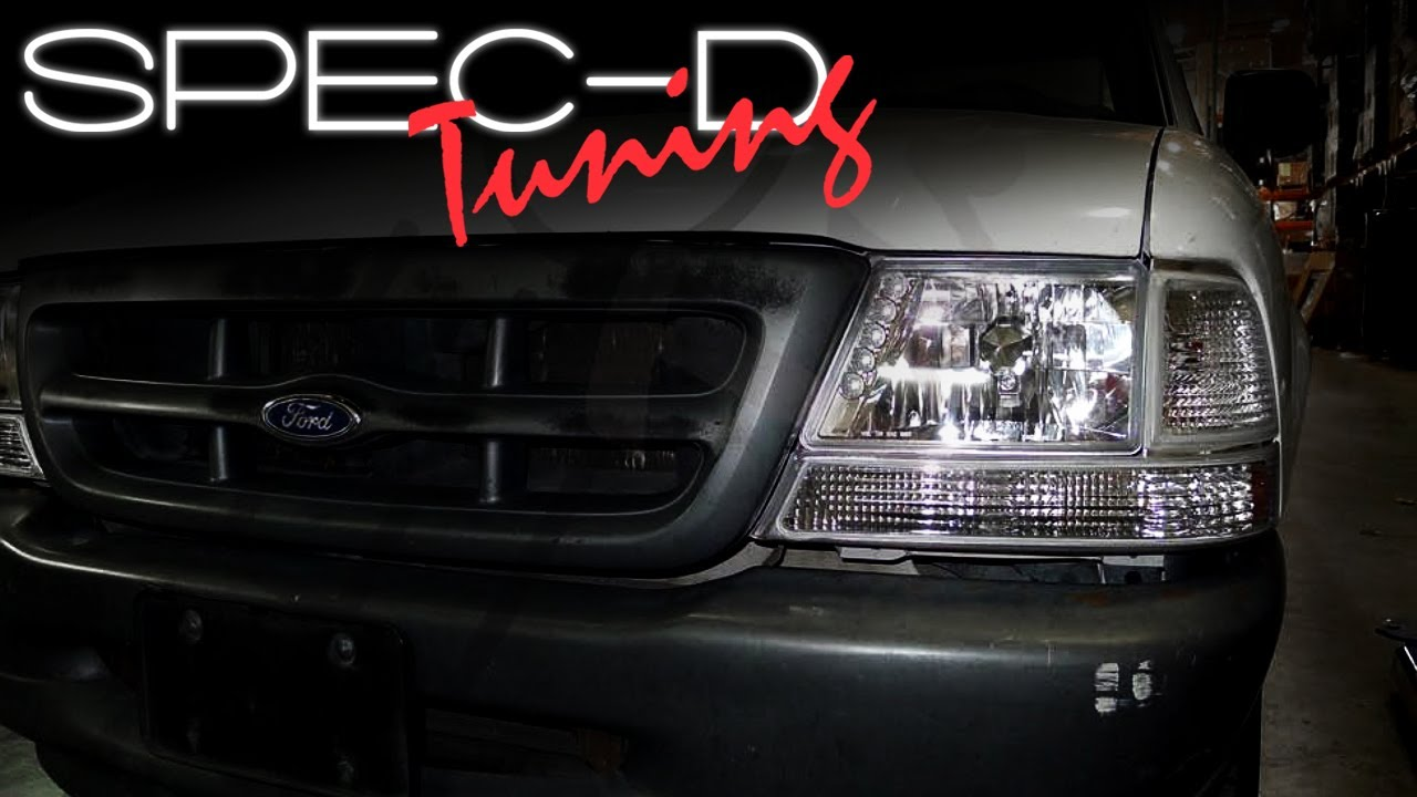 Specdtuning Installation Video 1998 2001 Ford Ranger Corner Lights You