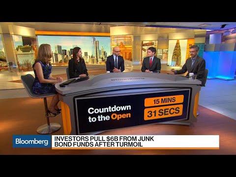 Junk-Bond Funds Hit With $6 Billion Ouflows