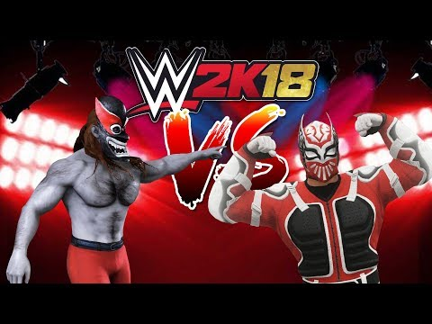 WWE 2k18 - FranDaMan1 Vs Renzzi (Ladder Match - Comedy Gaming)