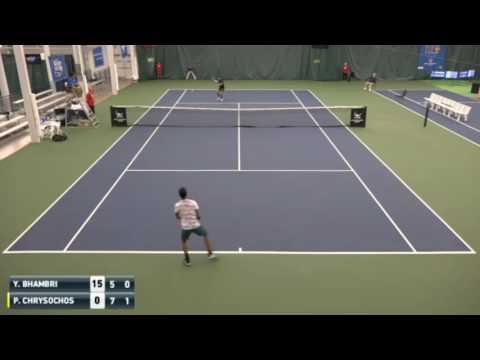 Yuki Bhambri vs Petros Chrysochos Highlights CHARLOTTESVILLE 2016