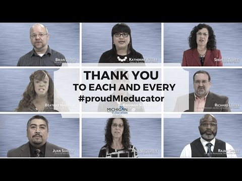 #proudMIeducator: Thank You from the Michigan Department of Education